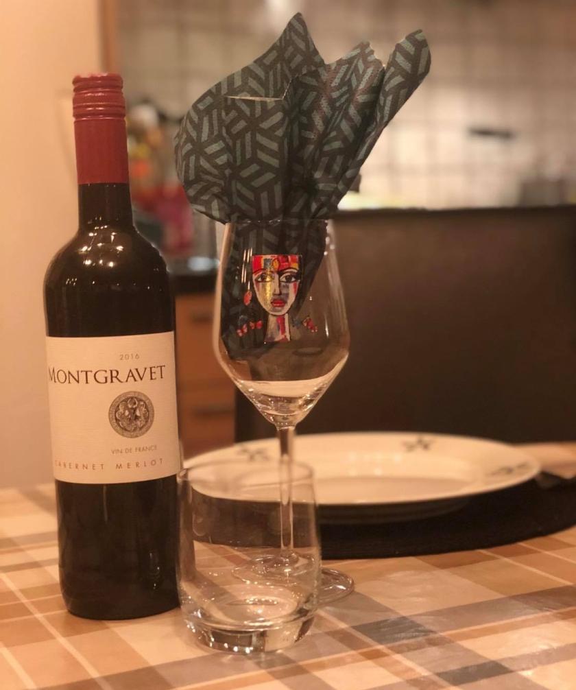 Rödvin till middag